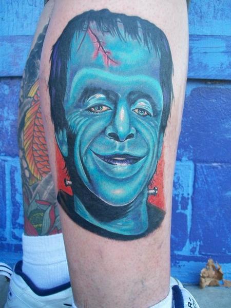 Tattoos - Herman Munster - 60582