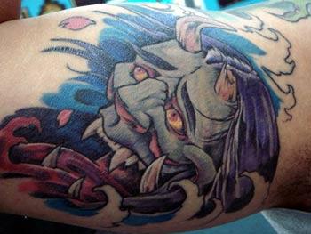 Tattoos - Japanese Hanya  - 27955