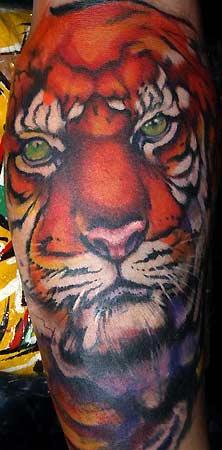 Tattoos - TIGER - 30878