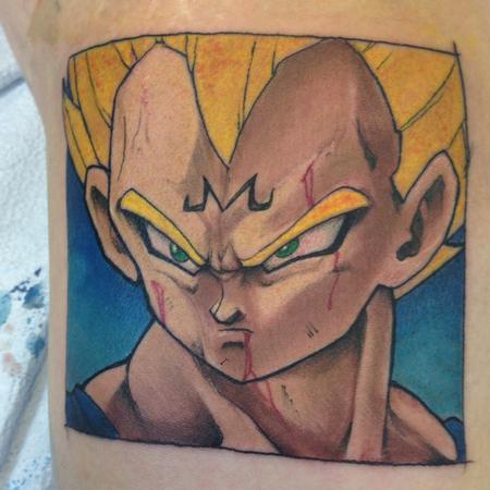 Tattoos - Vegeta by kelly gormley - 101237
