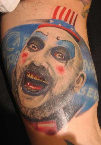 Alex De Pase - Captain Spaulding from the movie House of 1000 corpses