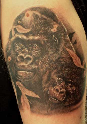 Tattoos - Alex de Pase - Monkey - 29181