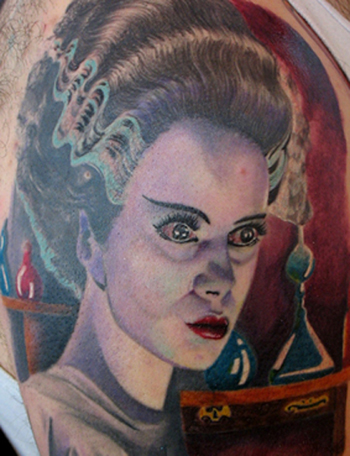 Tattoos - Bride of Frankenstein - 21706