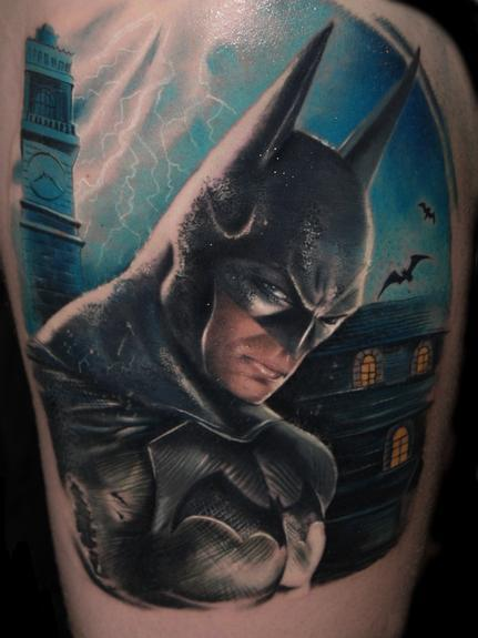 Alex De Pase - Batman Tattoo