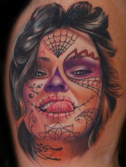 Tattoos - Day of the Dead Girl - 50613