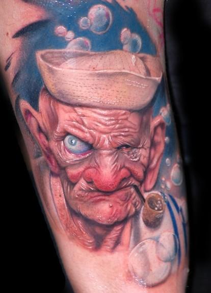 Alex De Pase - Sailor Tattoo