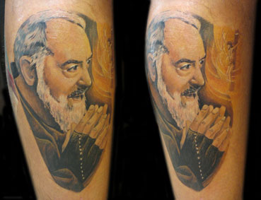 Tattoos - Monk - 25809