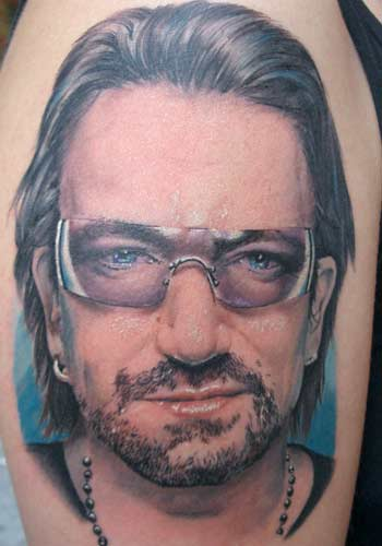 Tattoos - Bono U2 by Alex De Pase - 29184