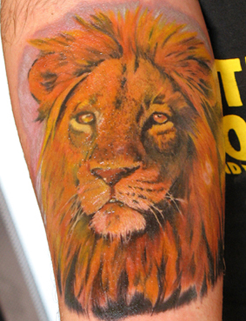 Tattoos - Lion! - 21737