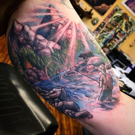 Tattoos - Buddy memorialThe context is bitter sweet - 126479