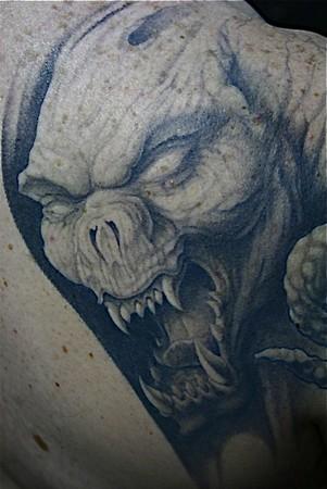 Alexis Vaatete - Demon Tattoo