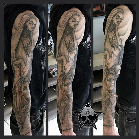 Tattoos - Heaven and Hell Theme - 116858