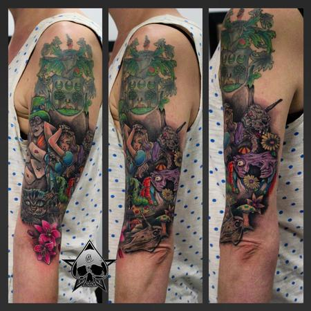 Tattoos - Alice in Wonderland - 116860
