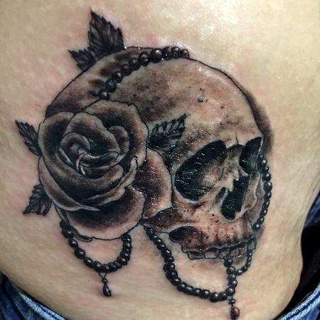 Tattoos - Little Skull - 100816