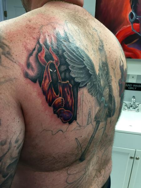 Tattoos - Heaven/hell concept  - 102151