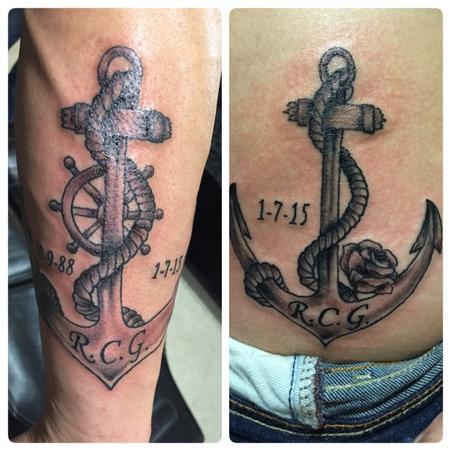 Tattoos - Anchor - 102145