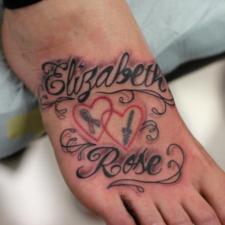Tattoos - Letters - 102147