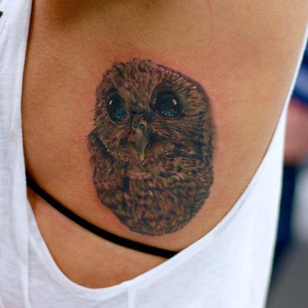 Tattoos - Owl - 102148