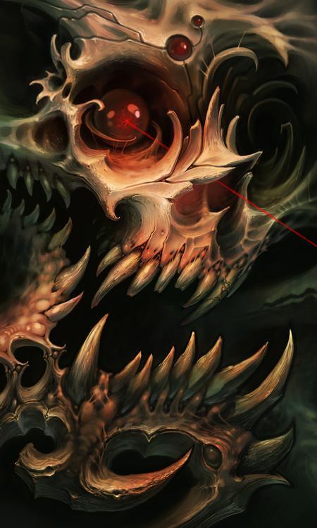 Brad Wooten - Skull