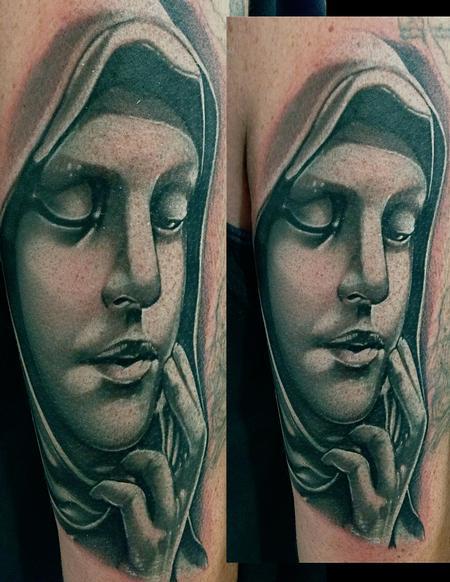 Tattoos - Virgin Mary Tattoo  - 70170