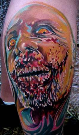 Tattoos - Zombie Tattoo - 30922