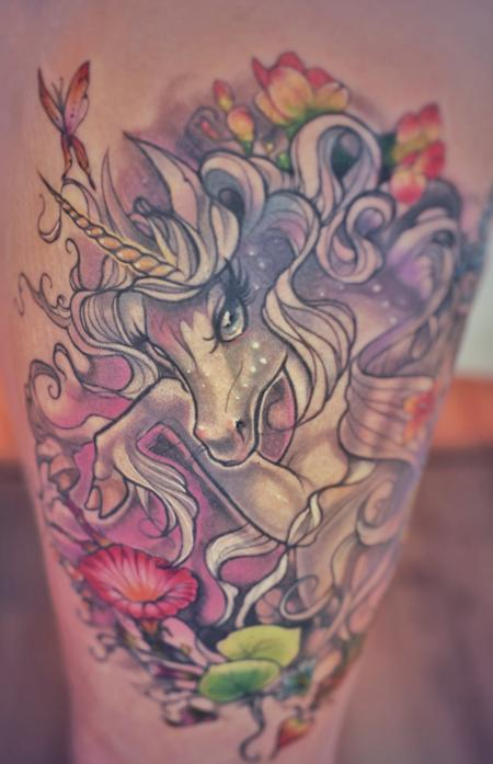 Tattoos - The Last Unicorn Tattoo - 141012