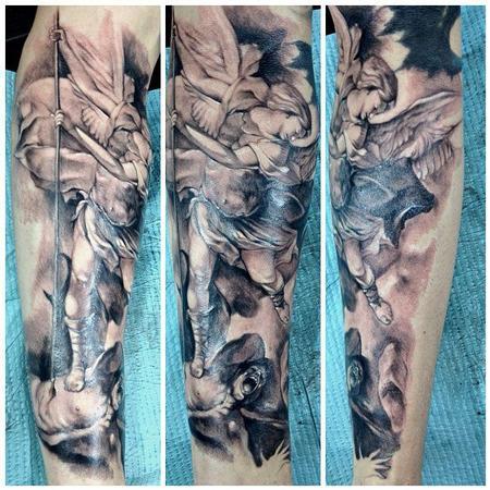 Tattoos - st michael - 78084