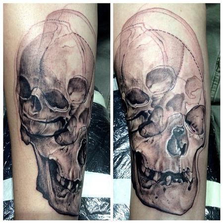 Tattoos - skulls - 78069