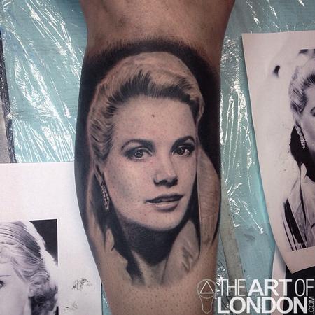 Tattoos - Grace Kelly Portrait - 93983