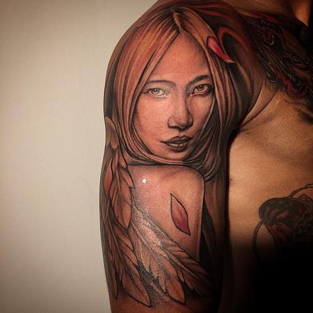Tattoos - Japanese Angel - 104215