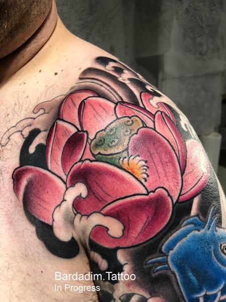 Tattoos - Lotus Flower - 132622