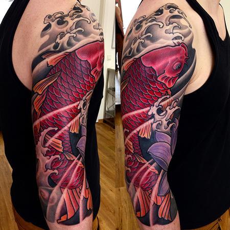Tattoos - Red Koi - 131062