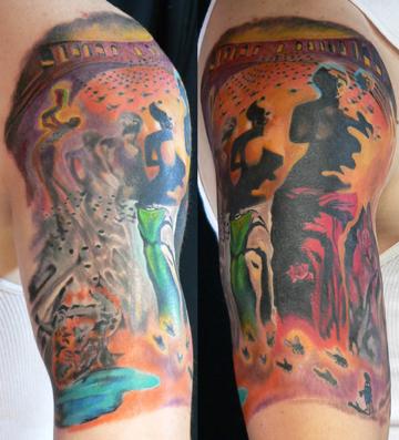 Tattoos - Dali - 21231