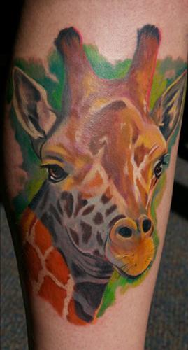 Tattoos - Giraffe - 27590