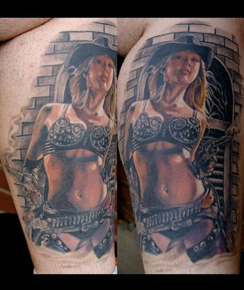 Tattoos - Jessica Alba in Sin City - 27588