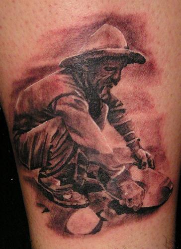 Tattoos - Gold Prospector - 21239