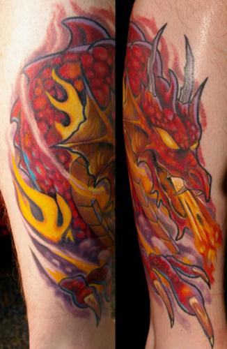 Tattoos - Dragon - 27569