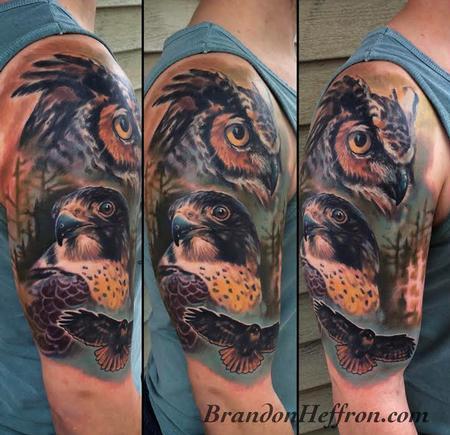 Tattoos - Birds of Prey - 117188
