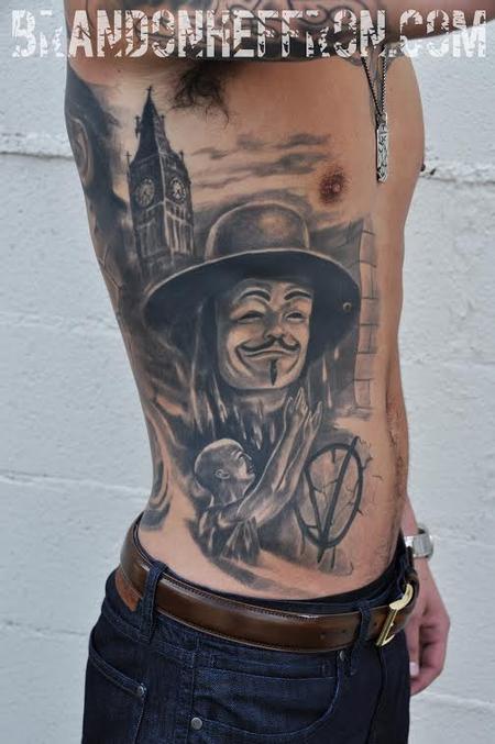 Tattoos - V for Vendetta  - 98081