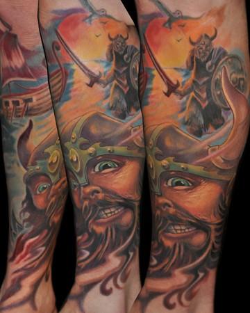 Tattoos - Viking - 50328