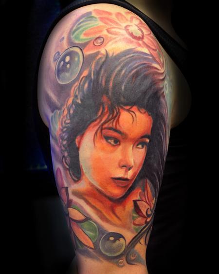 Tattoos - Bjork - 66143