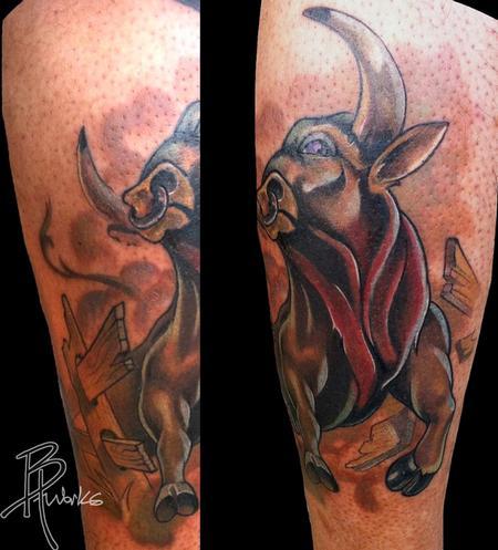 Tattoos - Bull - 69011