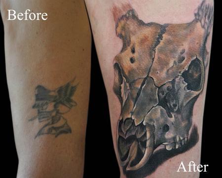 Tattoos - Deer Skull - 55690