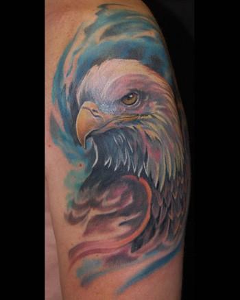 Tattoos - Eagle - 34555