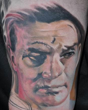Tattoos - Terry Sawchuk - Hockey Goalie - 40091
