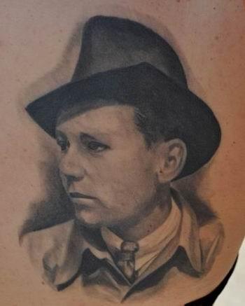 Tattoos - Grandpa Portrait - 40090