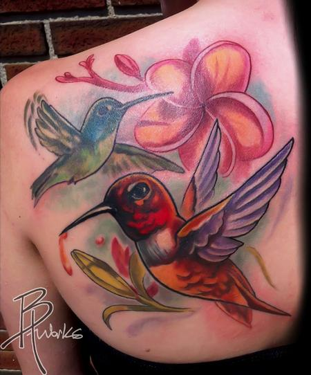Tattoos - Hummingbirds - 69017
