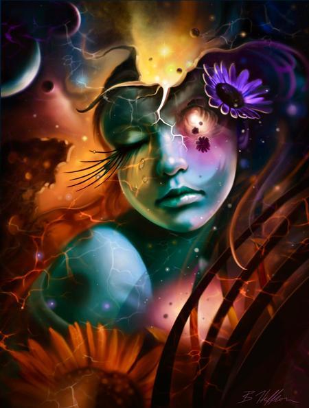 Brandon Heffron - Celestial Sunflower