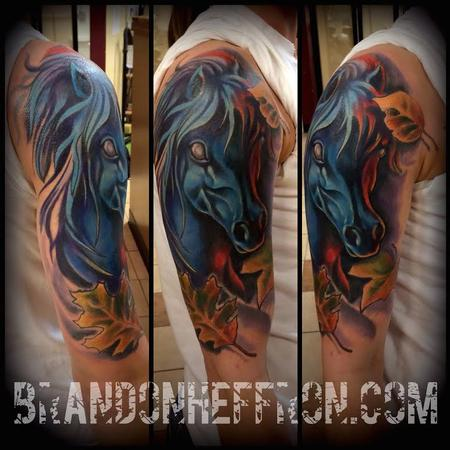 Tattoos - Horse (cover up) - 89480
