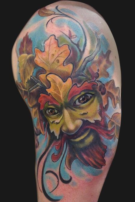 Tattoos - Leaf Man - 74588